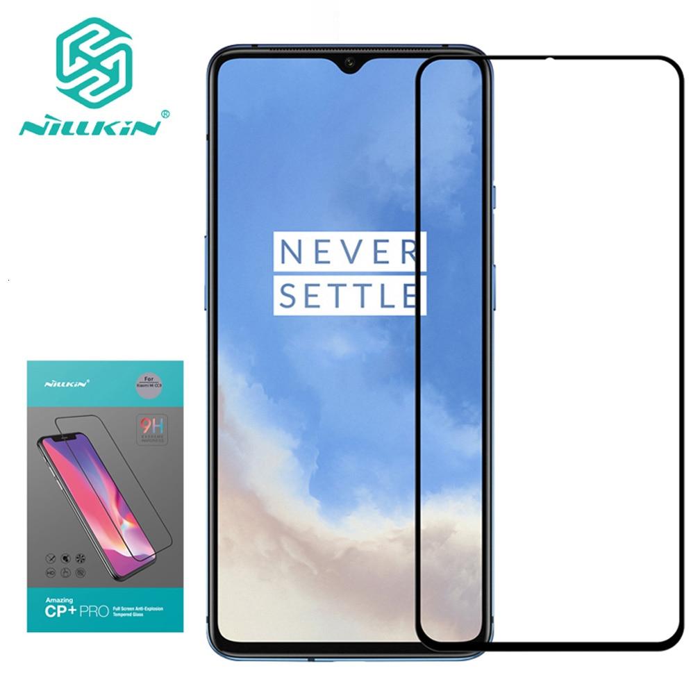 Для Oneplus 7T стекло Nillkin CP + Pro Полное Покрытие 2.5D Закаленное стекло Защита экрана для Oneplus 7T Nilkin HD Стекло