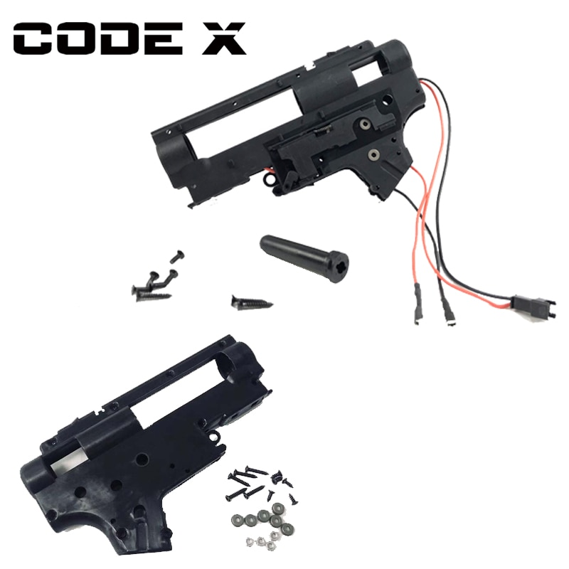 Código X JinMing M4A1 Gen 9 Gel flash Nylon receptor actualización accesorios caja de cambios accesorios para pistola de juguete