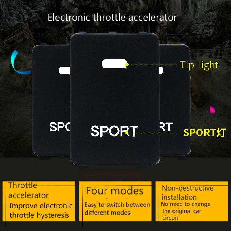 Powerbox chip a acelerador electrónico de coche pedal comandante SEOUOIA... COROLLA carmy de highlander Tundra ZELAS prado... VIOS EZ