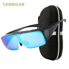 Lunettes de soleil polarisées pour la pêche, couverture, pour la myopie, pour hommes et femmes, lunette de Sport