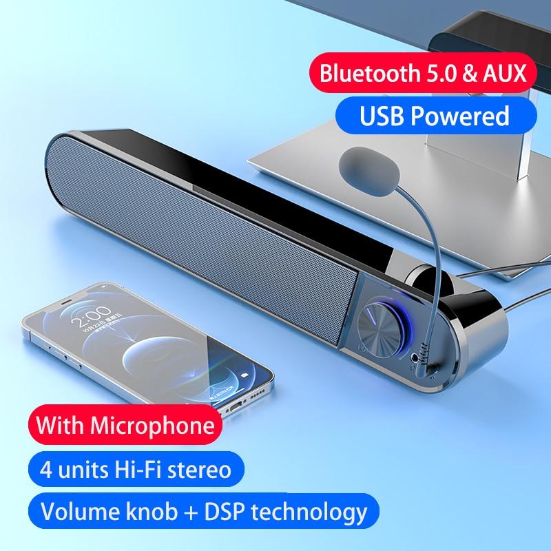 Altavoz Bluetooth Potente Parlantes Alta Potencia Bocinas Sistema De cine en casa...