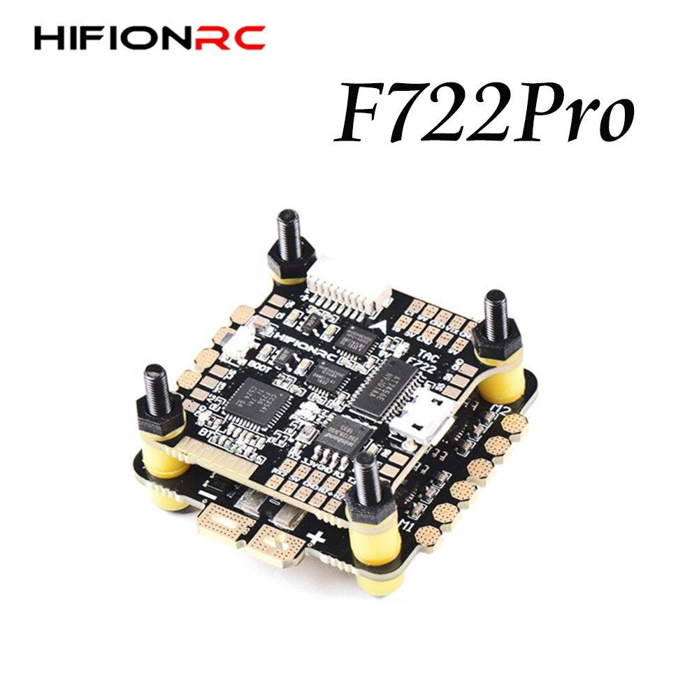 Controlador de vuelo F7 Pro F722 Blheli-32, 32 bits, ESC 45A 60A, Torre voladora, apilado para FPV Racing RC Drone actualizado HIFIONRC