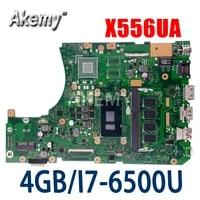 x556ua 4gi7 6500u v2g mainboard for asus x556u x556uj x556uv x556uam x556ua motherboard 90nb09s0 r00140
