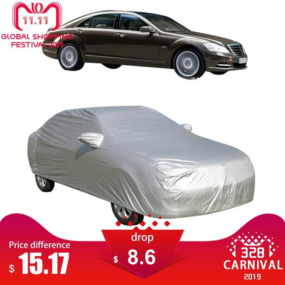 Cubierta Universal para coche M L XL, cubierta para el sol, protección contra el hielo, a prueba de polvo, cubiertas protectoras para exteriores impermeables