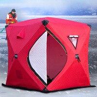 """Утепленная трехслойная палатка типа """"Куб"""", для зимней рыбалки. #3"""