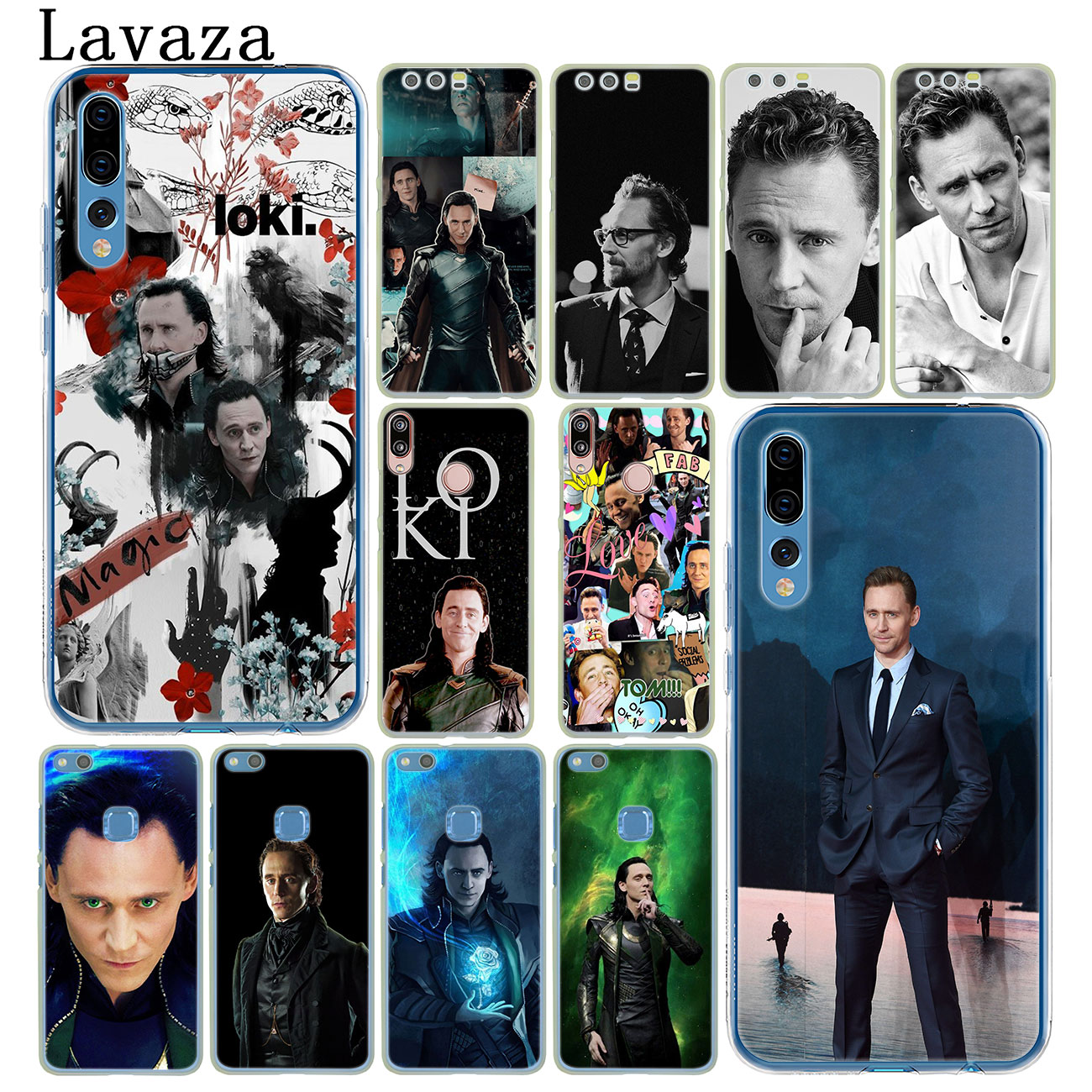 Lavaza Tom Hiddleston Loki funda del teléfono para Huawei Y9 Y7 primer 2018 2019 Honor 20 10 8 8A 8X9X9 Lite 7C 7X 7A Pro