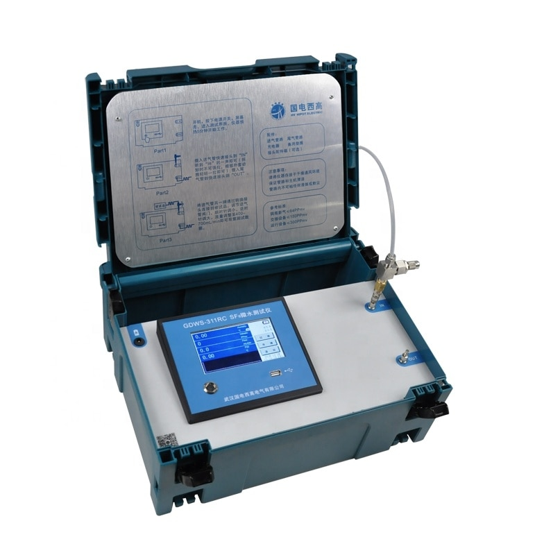GDSF-311WPD 3-в-1 SF6 газовый анализатор