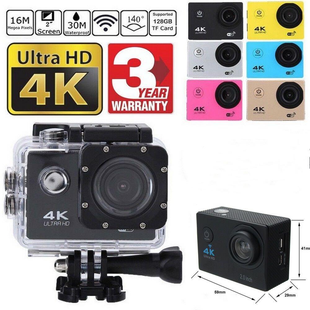 SJ9000 واي فاي 4K 1080P الترا HD كاميرا رياضية DVR كاميرا فيديو DV 30 متر مقاوم للماء خوذة كاميرا الفيديو