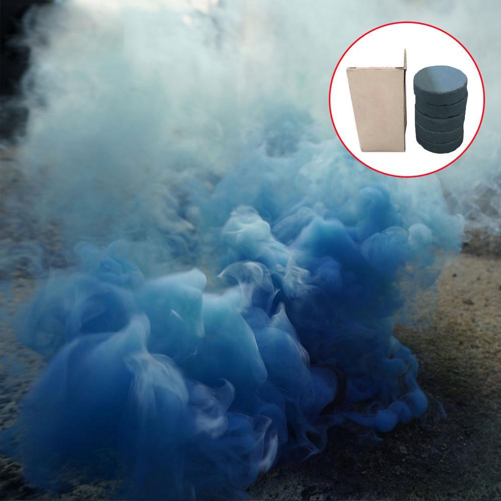 5 шт., дымчатый торт, красочный спрей, эффект дыма, круглые бомбы, вечерние, для студийной фотосъемки, реквизит, волшебный светильник, туман, дым, торт