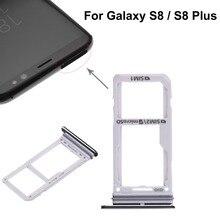 For Samsung Galaxy S8 \ S8 Plus Dual SIM Card Tray \ Micro SD Card Tray
