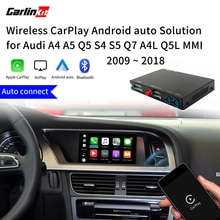 Carlinkit беспроводной Apple CarPlay/Android Авто Модернизированный комплект для Audi A4 A5 S4 Q5 Q7 A4L Q5L 3G/3G + MMI MuItimedia интерфейс