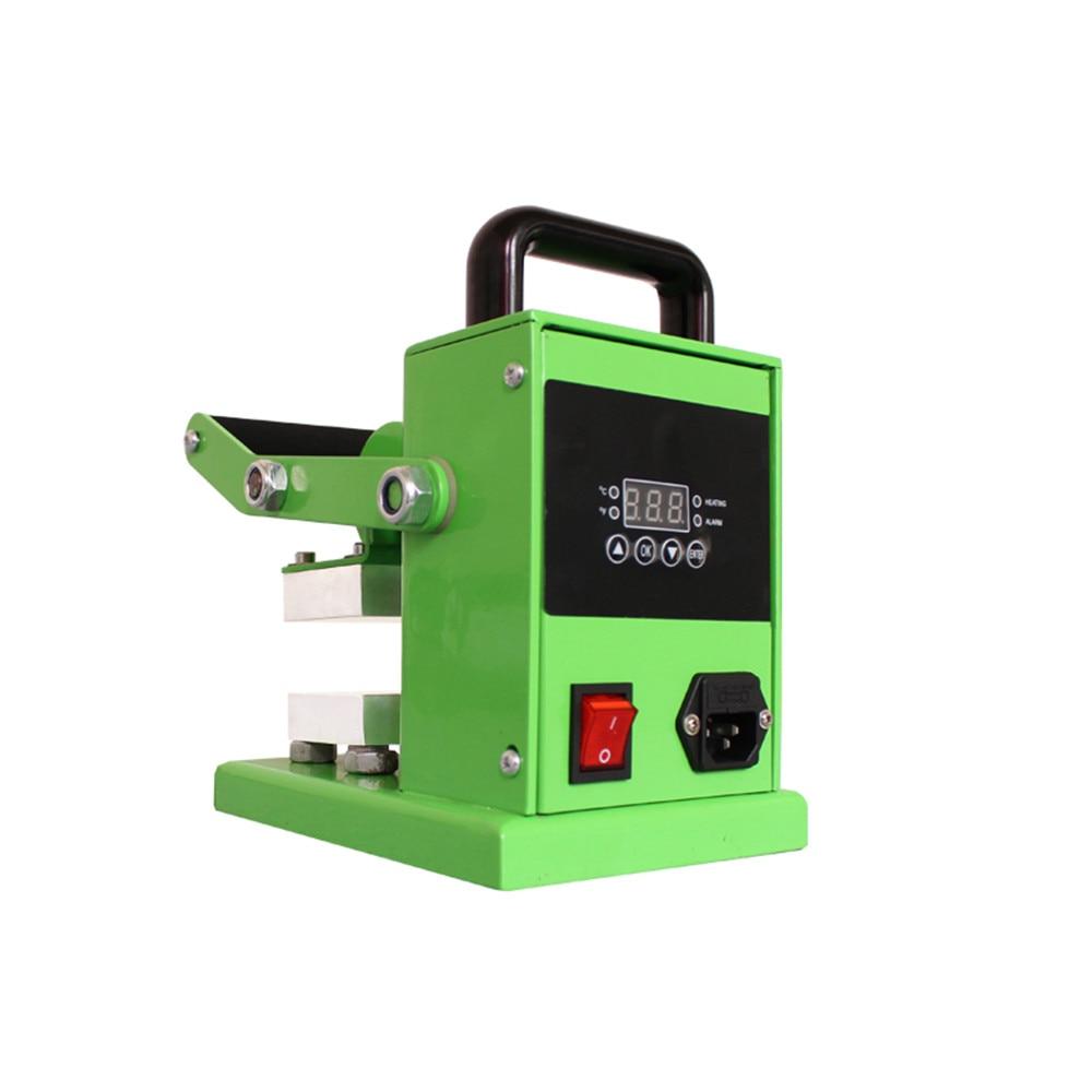 Mini máquina de prensado en caliente de colofonia, máquina de prensado en...