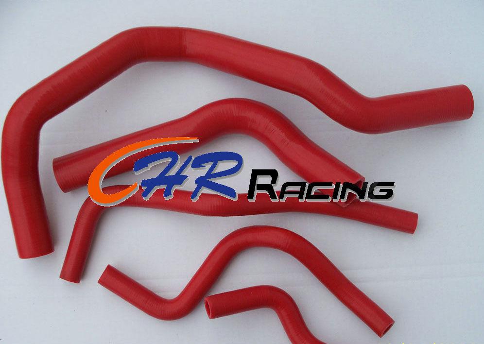 Manguera de refrigerante de silicona para Acura/Honda Integra Tipo R DC2/DB8 B18C 1995-2000 rojo