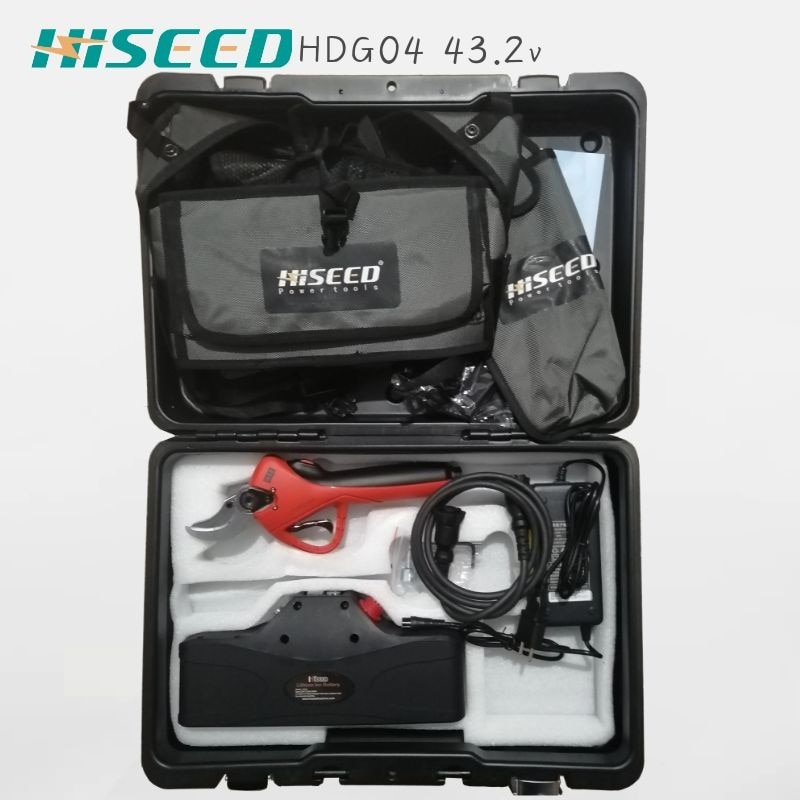 HiSeed-مقصات كهربائية حادة ، بوظيفة تدريجية ، قطع 40 مللي متر ، حاصلة على شهادة CE