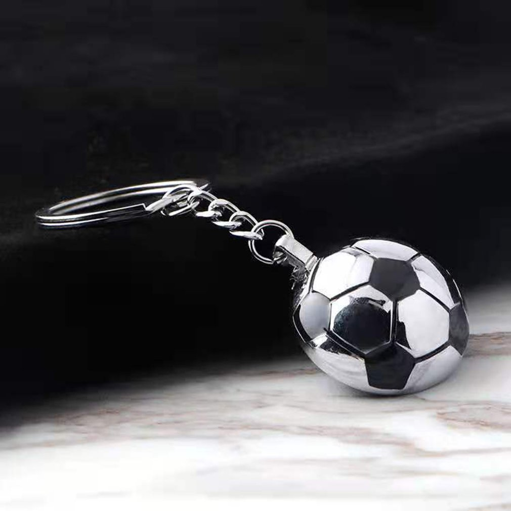 Soccer Ball Sports Keychain Football Car Key Chain one direction keychain Round shape Pendant Keyring for Man's Gift