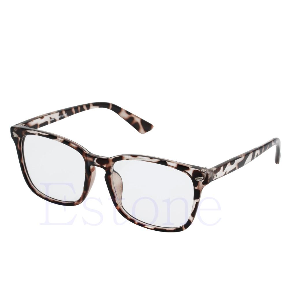 1pc Men Women Unisex Retro Eyeglass Frame Full Rim Computer Glasses Spectacles