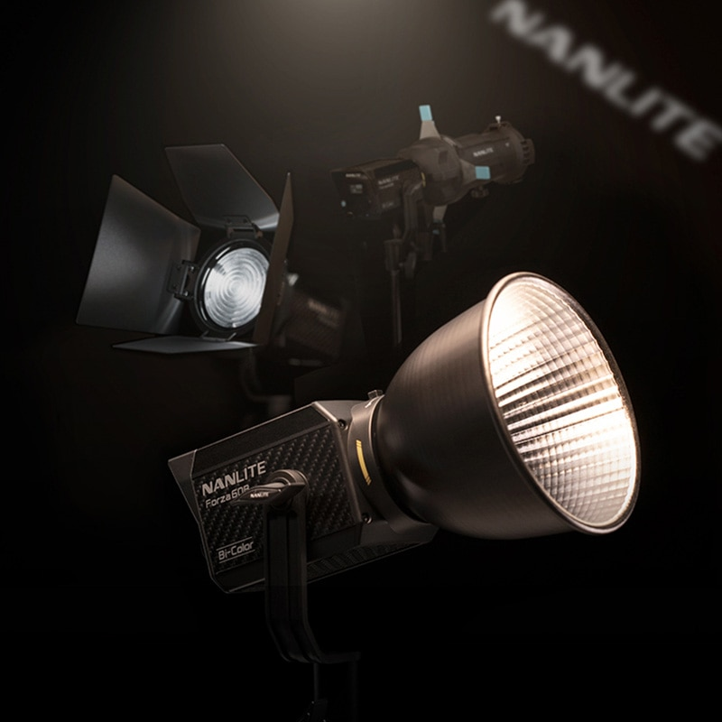 Nanguang Nanlite Forza 60B 60w LED Light Bi-color 2700K-6500K Video Light Professional Studio Strobe Flash Lamp lighting 60w