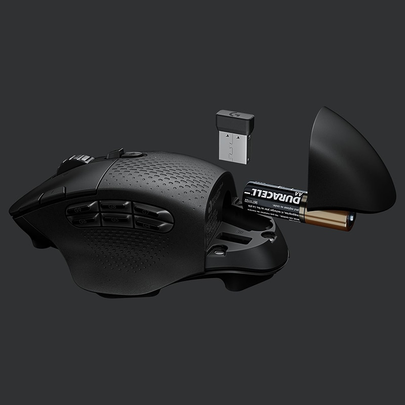 Logitech G604 Bluetooth Gaming Mouse 15 Buttons HERO 16K Sensor LIGHTSPEED Wireless Optical Mice for PC Laptop Gamer enlarge