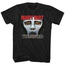 QUIET RIOT Heavy Metal Band Glam Rock Randy Rhoads Concert Tour Adult T-Shirt 11 Cotton Tee Shirts For Men