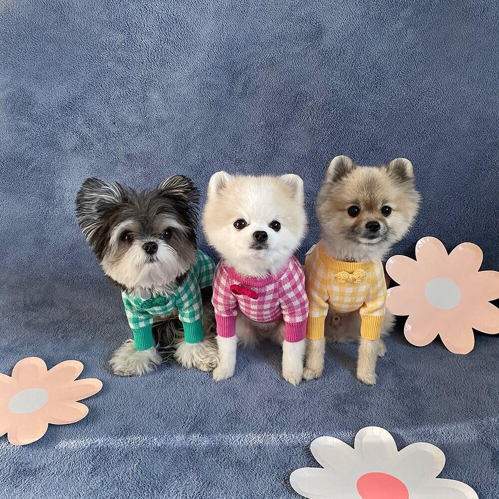 Camisola de Alta Roupas para Cães Roupas para Filhote de Cachorro Adorável Qualidade Quente Casa Roupas Pequeno Cão Gato Cabolsa Chihuahua Pomeranian Pet