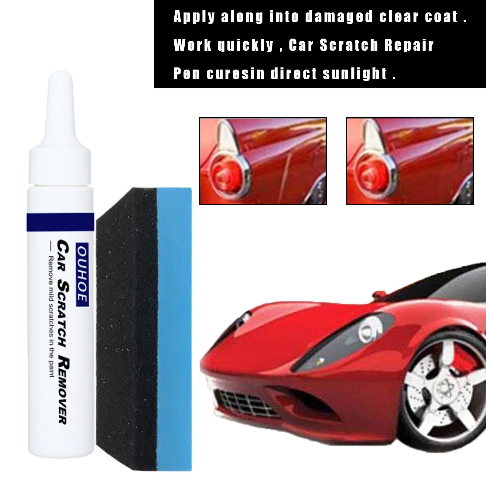 Автомобильные царапины и шлифовальные ручки краски, Зеркальные автомобильные царапины, полированные карандаши для автомобиля, автомобиль...