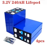 12v lifepo4 rechargeable battery pack 200ah 240ah 280ah 320ah electric rv golf outdoor solar energy 4pcs 3 2v lithium battery
