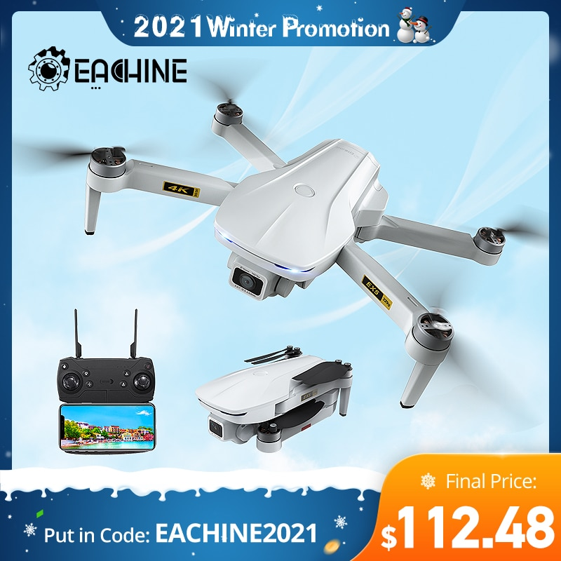 Eachine EX5 Drone 229g RC Quadcopter 4K GPS HD Mini Camera Profesional With 5G WIFI 1000 METERS Dist