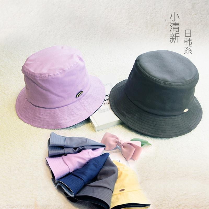Moda señora mujer sombrero de sol corto Eaves viaje plegable mujer señora hebilla sombreros gorras