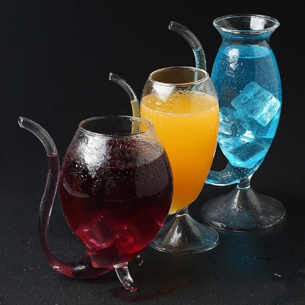 300ml criativo vampiro copo de vinho novidade vidro transparente ótimo presente para os amantes do vinho família e amigos