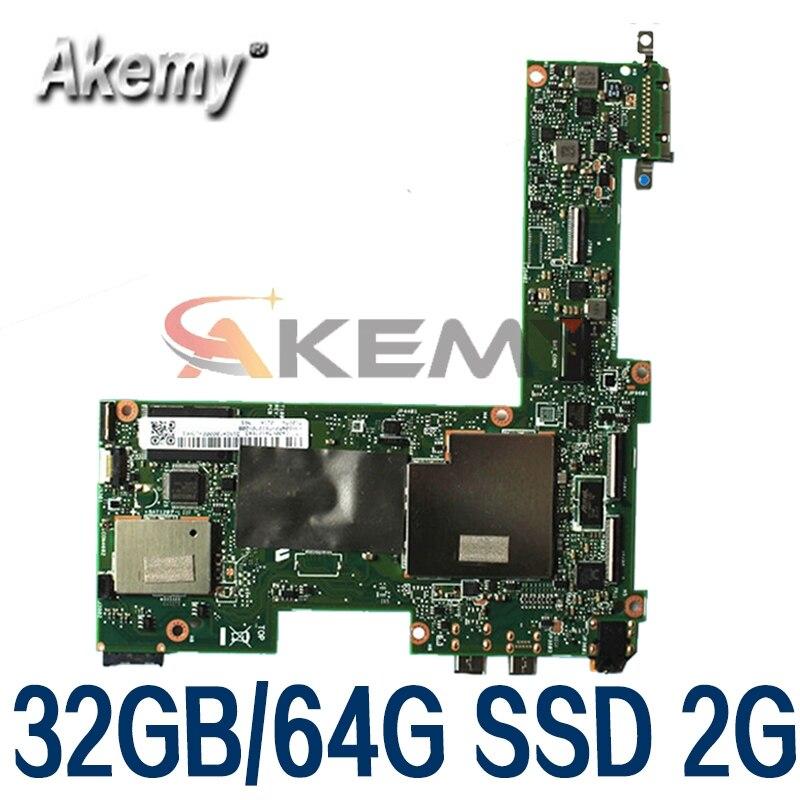 لوحة أم T100TA 32G/64G SSD لوحدة المعالجة المركزية Asus محول T100T T100TA 32GB/64GB SSD Atom 1.33Ghz CPU Rev 2.0 Test OK