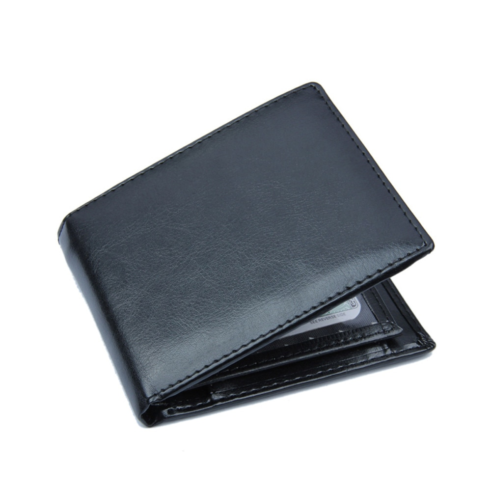 Leather Wallets Men Bifold Business Wallet ID Credit Card Holder Pockets Purse Coin Pocket Male for men