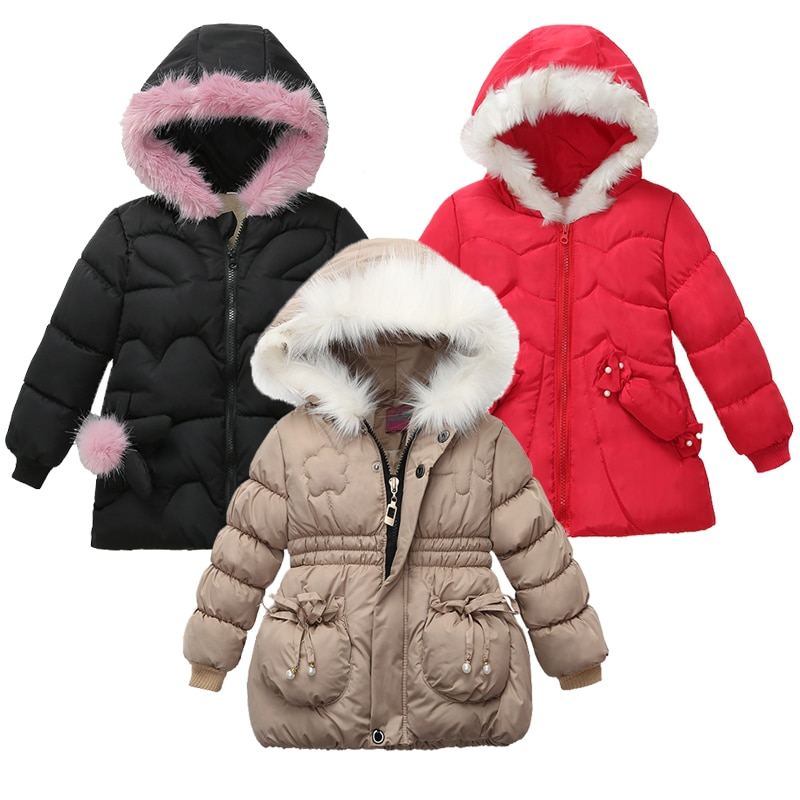 Chaquetas de otoño para niñas, ropa para niños, abrigo de invierno para niños y bebés, abrigos cálidos con capucha para chaqueta, abrigo bonito a la moda para niñas, gorro grueso