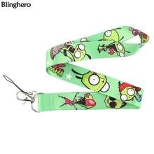 Blinghero Cartoon Lanyard Keys Phone USB Cool ID Card Holder Neck Straps With Camera Lanyard for Family Kids BH0388