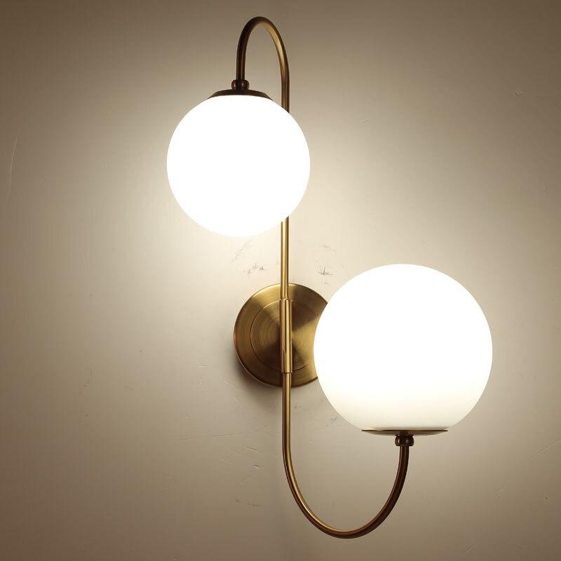 Ventilador de techo moderno, accesorio de baño, luminaria, espejo, cristal claro, cabecera,...