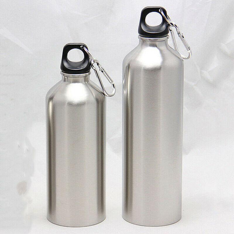 25oz Stainless Steel Sports Water Bottle + Leak Proof Cap Gym Canteen Tumbler 500/750ml Outdoor Cycling Climbing Sport Bottle