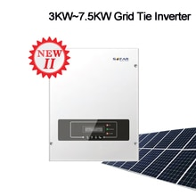 3KW 4KW 5KW 6KW Solar Grid Tie Inverter String Inverter 2nd Dual Mppt Met Wifi On-Grid Zonne-energie inverter