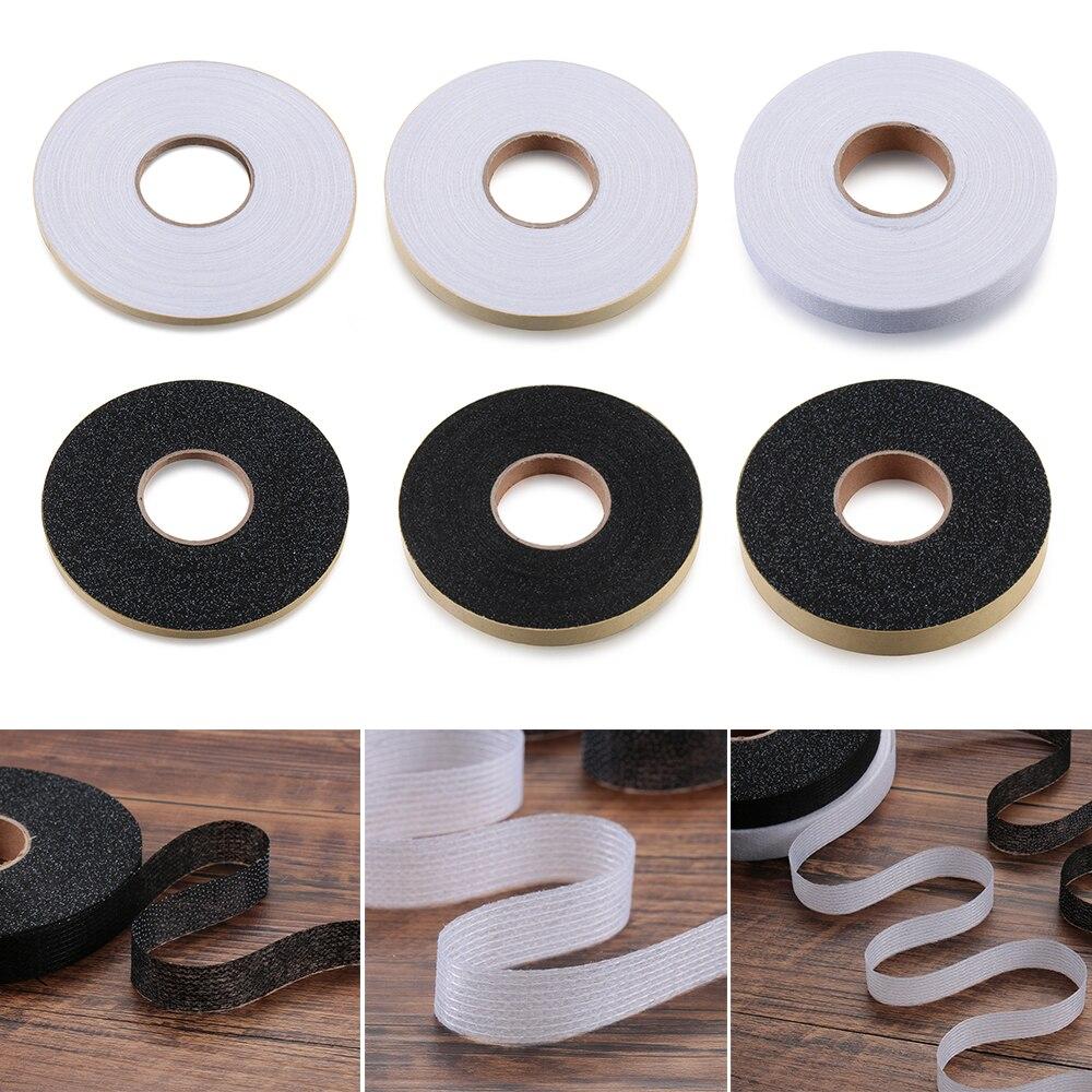 50 metros/rollo de doble cara Wonder Web Iron On Hemming cinta adhesiva tela rollo ropa costura Turn up Hem DIY Craft
