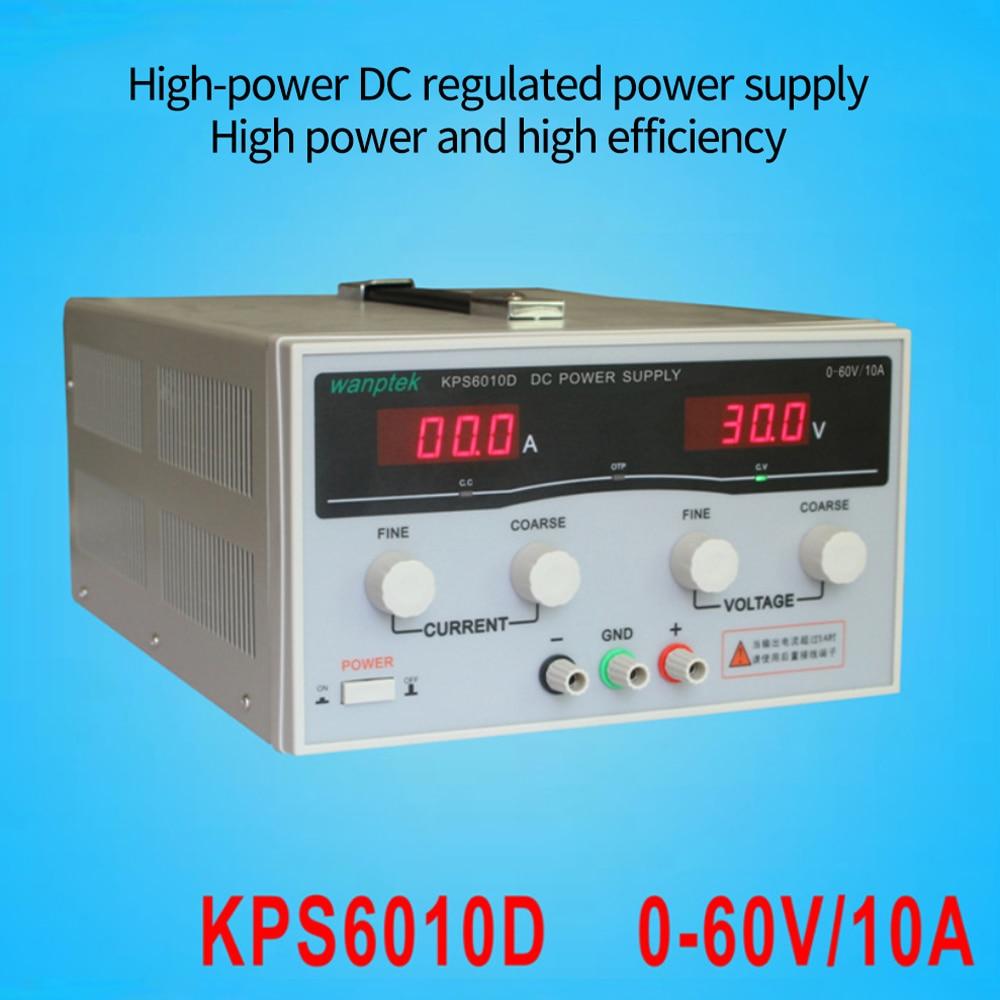 220 فولت 0-30 فولت/0-60a KPS3060D عالية الدقة عالية الطاقة قابل للتعديل LED عرض التبديل تيار مستمر مختبر امدادات الطاقة