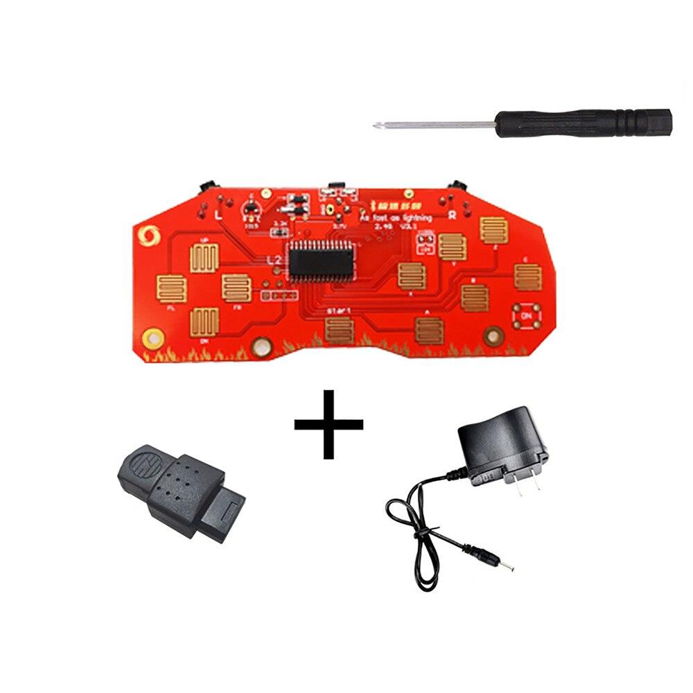 Receptor de placa base para consola de juegos Sega Saturn SS, Kits de modificación de controlador inalámbrico DIY para controlador de juegos Sega Saturn