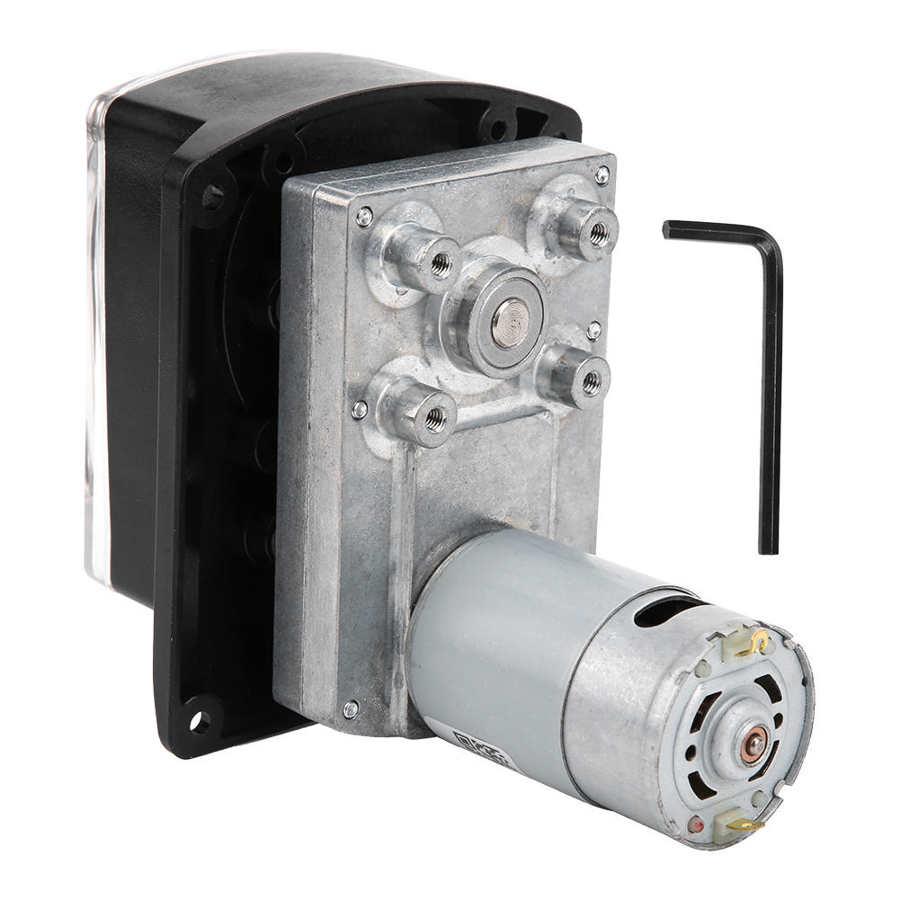 مضخة تمعجية عالية حافظة كمبيوتر شفافة غطاء دائم PA66 المواد غلاف تيار مستمر 6 فولت-24 فولت ضخ معدل تدفق الوصول