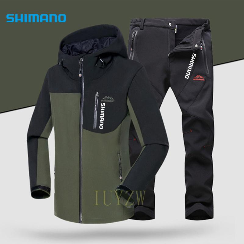 Shimanos Fishing Suit Waterproof Breathable Suit for Fishing Clothing Men's Winter Fishing Wear Thermal Sport Fishing Clothes enlarge