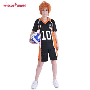 Haikyuu!! Karasuno High Shouyou Hinata Volleyball Uniform Cosplay Costume