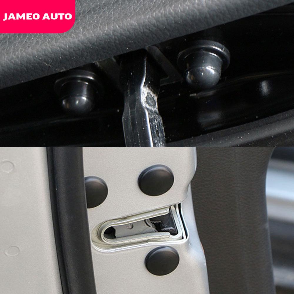 Jameo auto bloqueio da porta do carro parafuso protetor adesivos capa para byd todo o modelo s6 s7 s8 f3 f6 f0 m6 g3 g5 g7 e6 l3