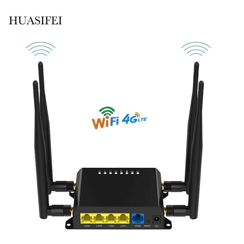 Роутер 4G CAT6 300 Мбит/с, 4G LTE роутер 4g Wi-Fi роутер промышленного класса со слотом для сим-карты, Wi-Fi роутер, порт WAN/LAM, 32 пользователя