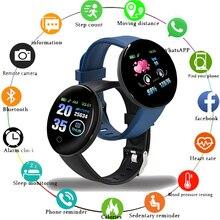 116 Plus Bracelet intelligent D13 sport Fitness Bracelet D18 Bracelet intelligent mesure de la pression artérielle podomètre Smartband montre nouveau