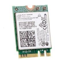 Banda Dual inalámbrica-CA 867Mbps para Intel 7265 7265NGW 802.11ac 2x2 WiFi + Bluetooth BT 4,0 NGFF M.2 Wifi tarjeta de red portátil