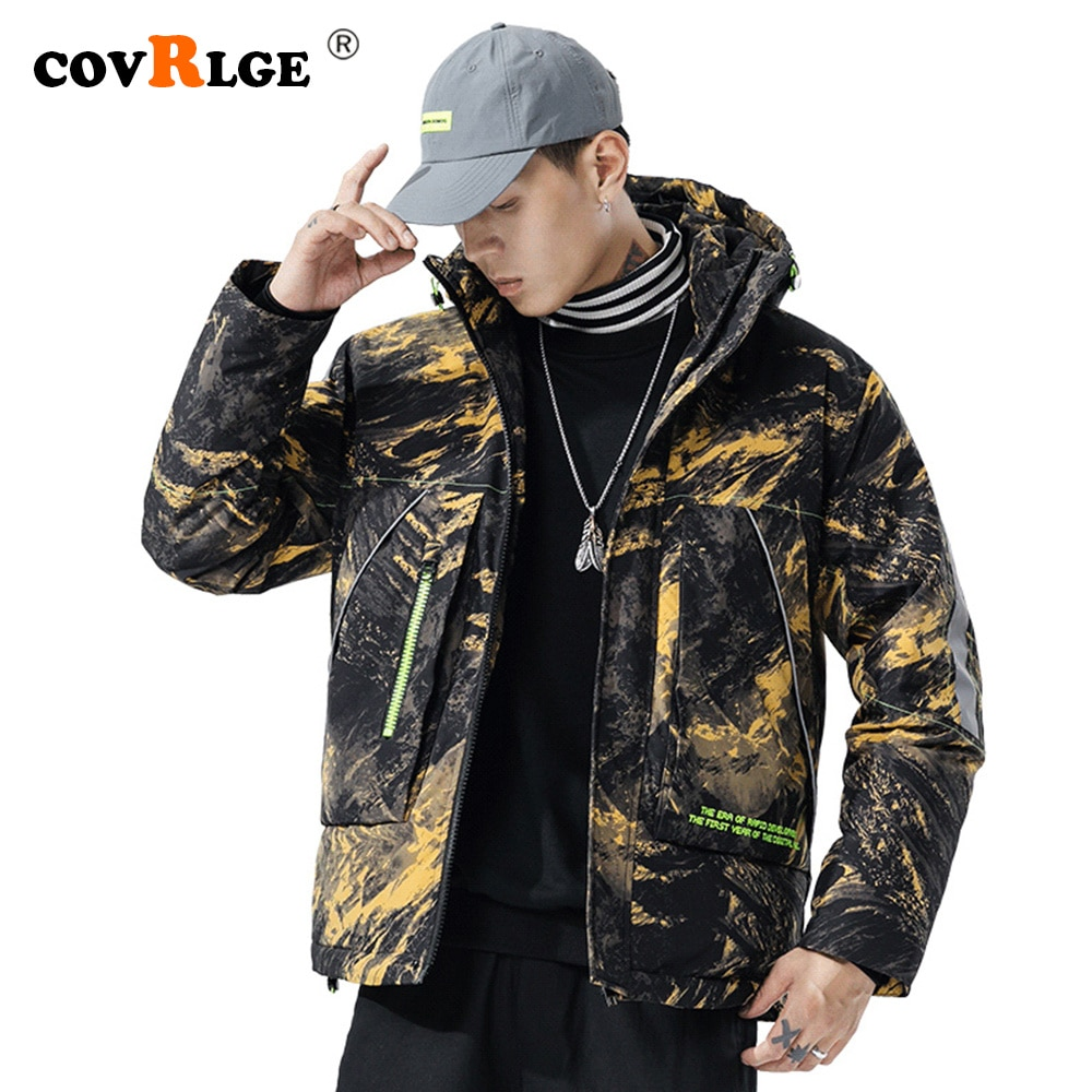 Фото - Covrlge Man Duck Down Jacket Light Thick Jackets Men Hooded 90 Fleece Jacket  Men Stand-up Collar Coat Men US Size White MWY032 covrlge trendy hooded men s white duck down jacket stand collar embroidered down jacket men winter warm causal coat us mwy034