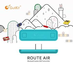 Image 2 - Беспроводной аудиопередатчик GuliKit NS07 Pro, маршрут Air, голосовой чат, USB C, Bluetooth, аудиоадаптер для Nintendo Switch Lite, PS4, ПК