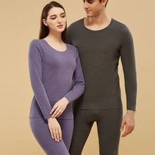 Winter Couple Thermal Underwear Long Johns Women and Men Autumn Warm Underwear Sets Male and Female