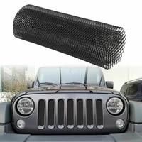 aluminum mesh grill cover net hexagonal diamond car bumper fender hood vent grille net universal durable protector home garden